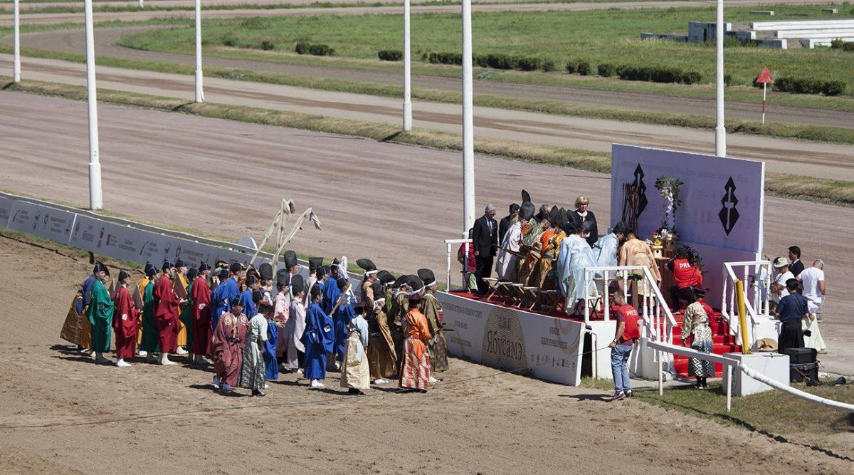 Федерация кюдо России − участник церемонии ябусамэ