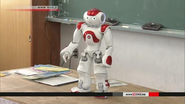 Роботы помогут японским учащимся улучшить их английских язык