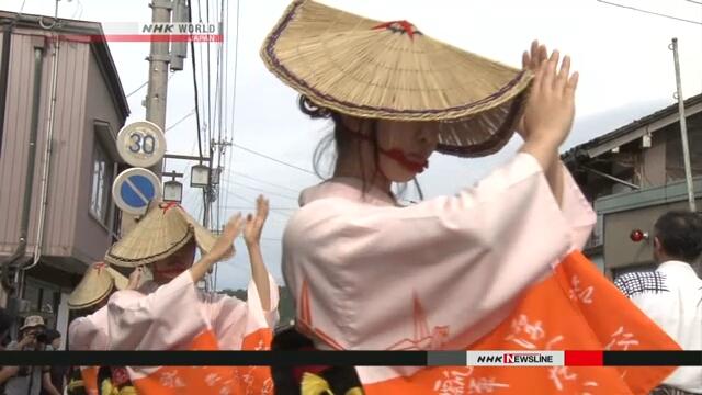 В префектуре Тояма начался традиционный фестиваль
