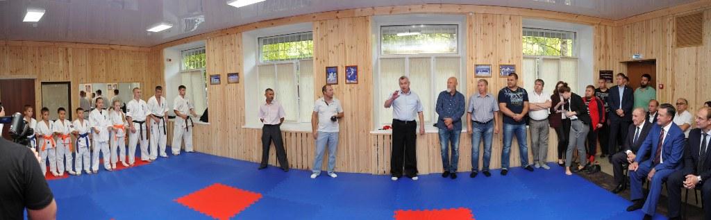 Ульяновское отделение Общества «Россия-Япония» приняло участие в открытии филиала тренировочного центра Кёкусинкай каратэ