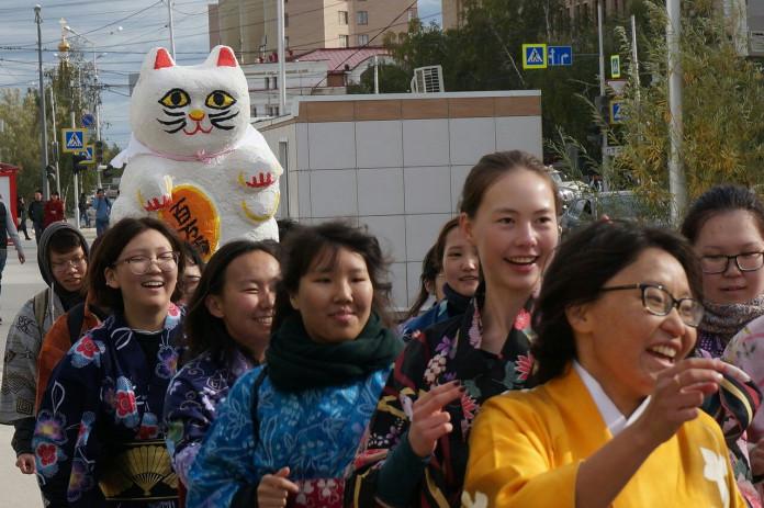 В Якутске состоялся японский фестиваль золотой осени