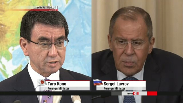Министр иностранных дел Японии планирует встретиться с Лавровым