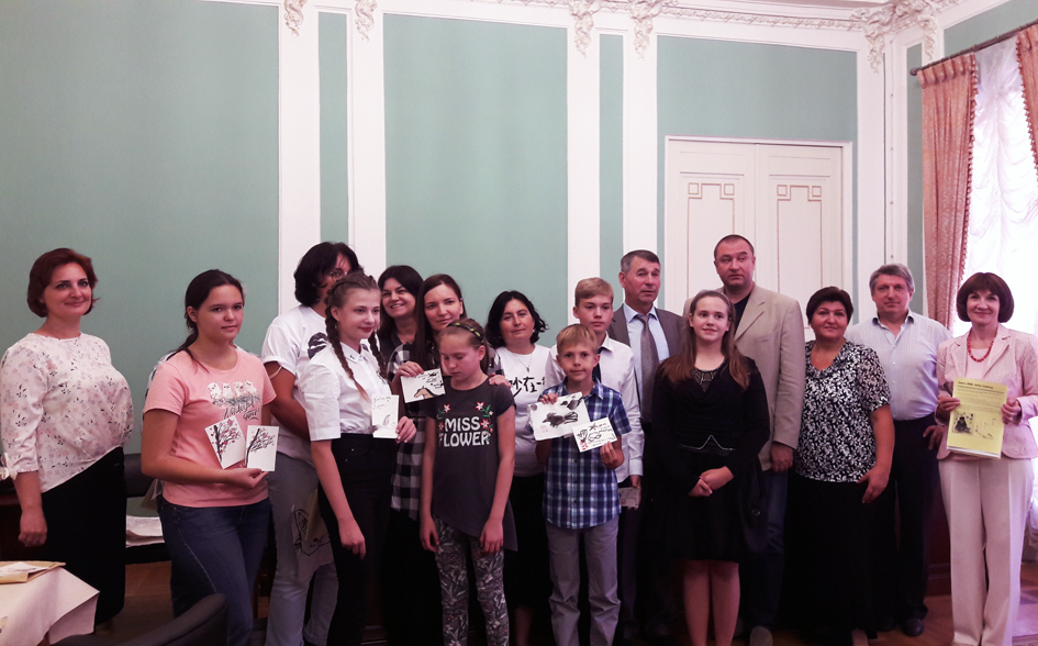 Юные хайдзины в Доме Ростовых (5 сентября 2018 года)