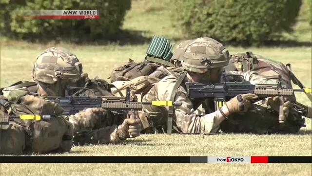 Япония и Великобритания проводят совместные военные учения