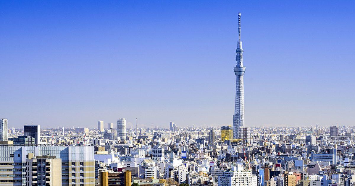 На телебашне Tokyo Skytree проводят эксперимент с измерением времени