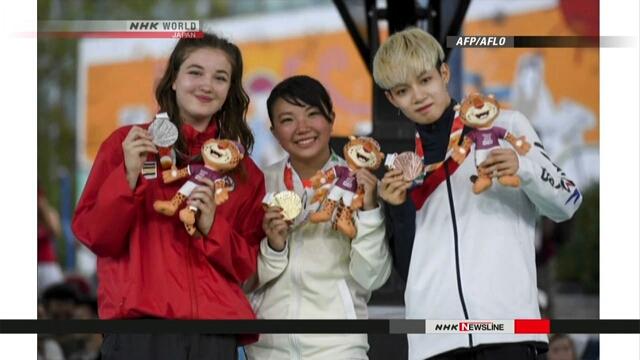Японка Раму Каваи стала первой чемпионкой молодежной олимпиады по брейк-дансу