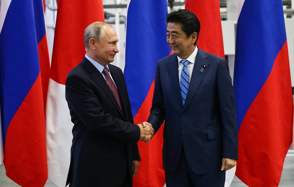 Абэ: у Токио имеются секретные записи переговоров лидеров России и Японии