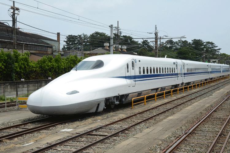 В Японии представили новую технологию для суперэкспрессов «синкансэн»