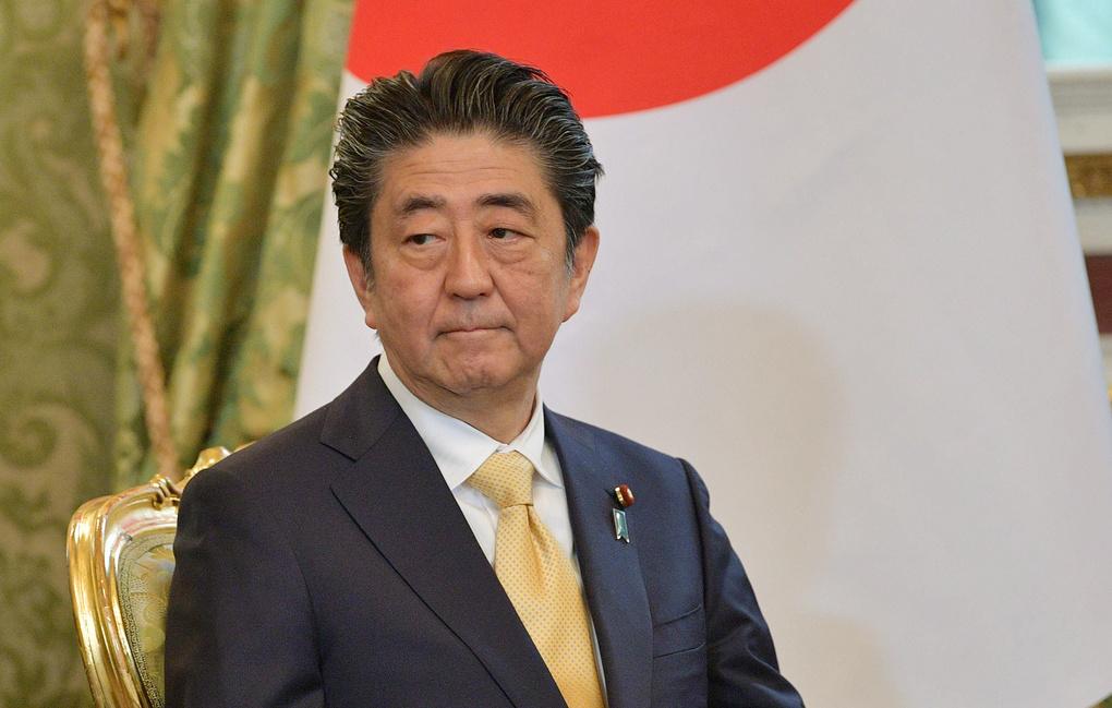 Абэ заявил о неизменности позиции Японии в отношении мирного договора с Россией
