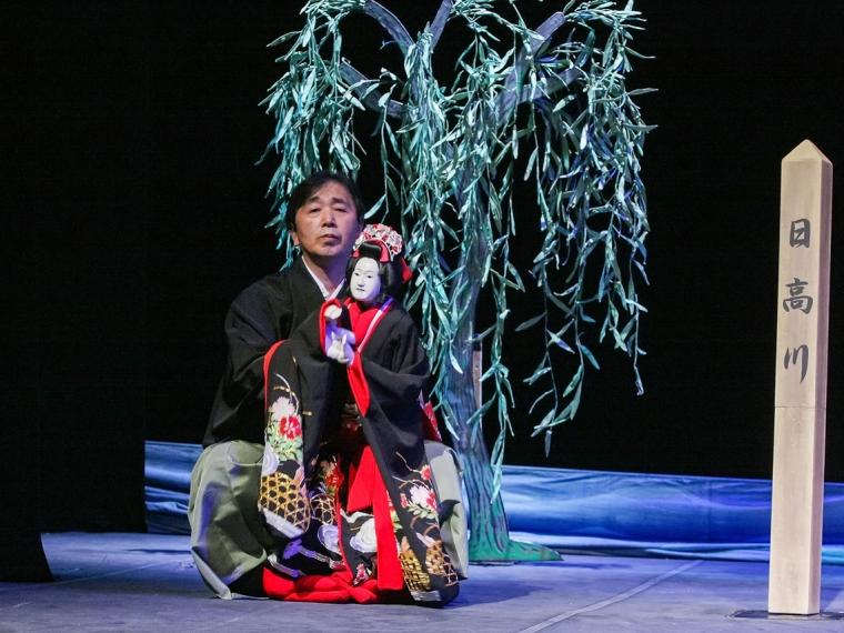 Японский кукольник Корю Нисикава выступил в Омске [видео]