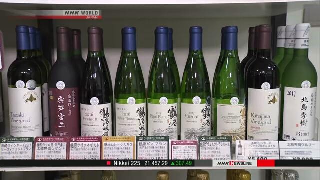 Вино на Хоккайдо получило свой собственный апелласьон