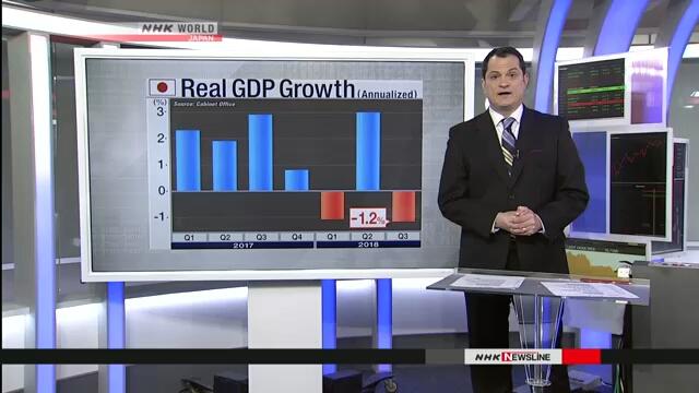 Стихийные бедствия негативно сказались на экономике Японии