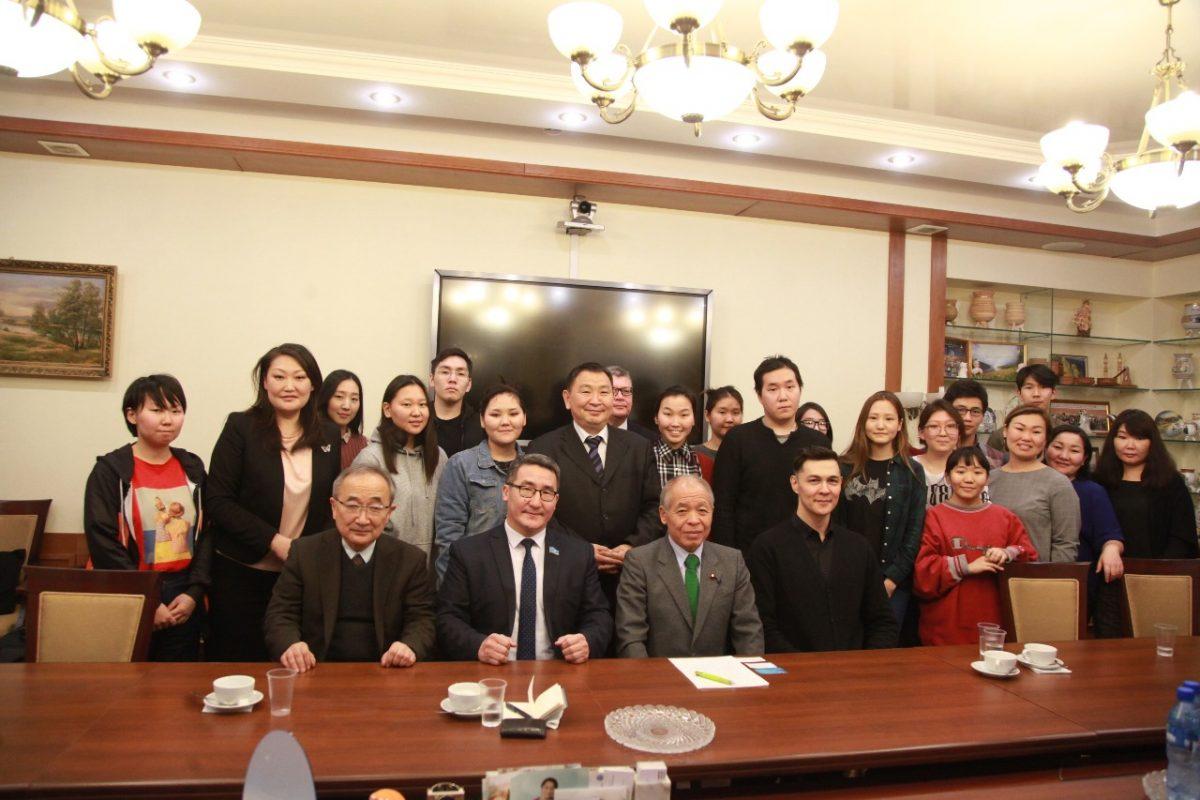 Известный японский политик Мунэо Судзуки посетил Республику Саха