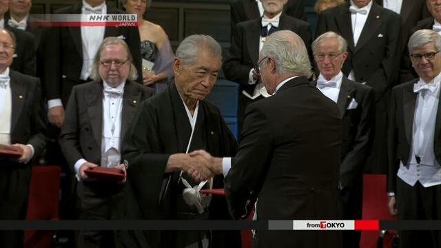 Японский профессор Тасуку Хондзё получил Нобелевскую премию в Швеции