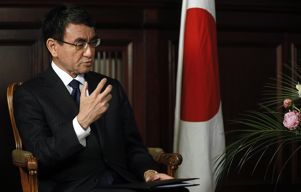 Глава МИД Японии извинился за то, что уходит от ответов на вопросы про мирный договор с РФ