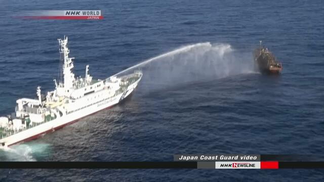 Управление береговой охраны Японии сообщило, что более 1600 северокорейских рыболовных судов занималось нелегальным промыслом