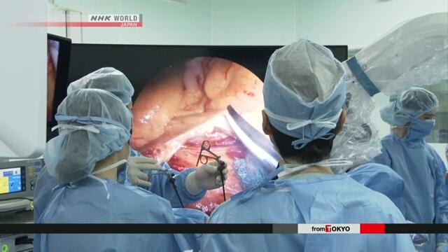 Технология 8К задействована при проведении эндоскопической операции