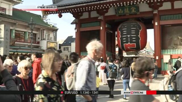 Число иностранных туристов в Японии превысило 30 миллионов человек