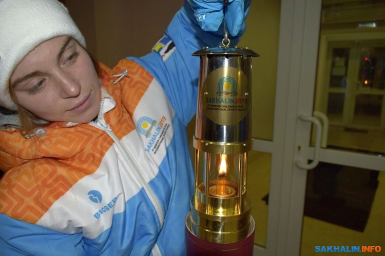 Россия провела эстафету с факелами на острове Кунасири