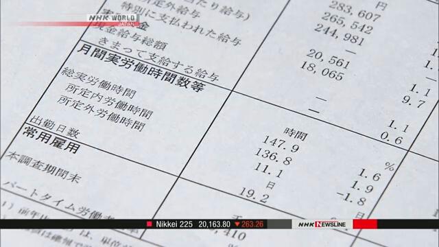 Некорректные статистические данные могут повлиять на проект бюджета в Японии