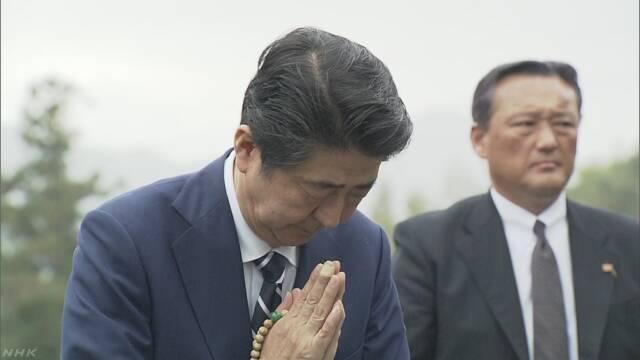 Синдзо Абэ поклялся на могиле отца поставить точку в переговорах с РФ