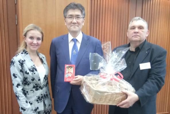 Тамбовчане обсудили развитие японо-российских отношений в Посольстве Японии в России