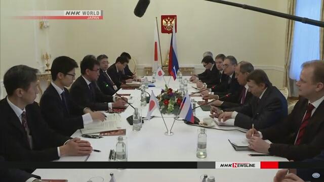 Япония и Россия не пришли к единому мнению в отношении территориального вопроса