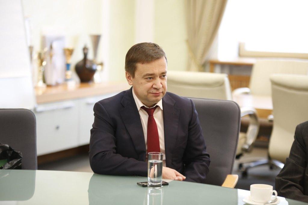 Рабочая встреча с Представителем МИД России в Екатеринбурге