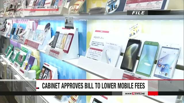 Кабинет министров Японии утвердил законопроект, направленный на снижение стоимости услуг мобильной связи