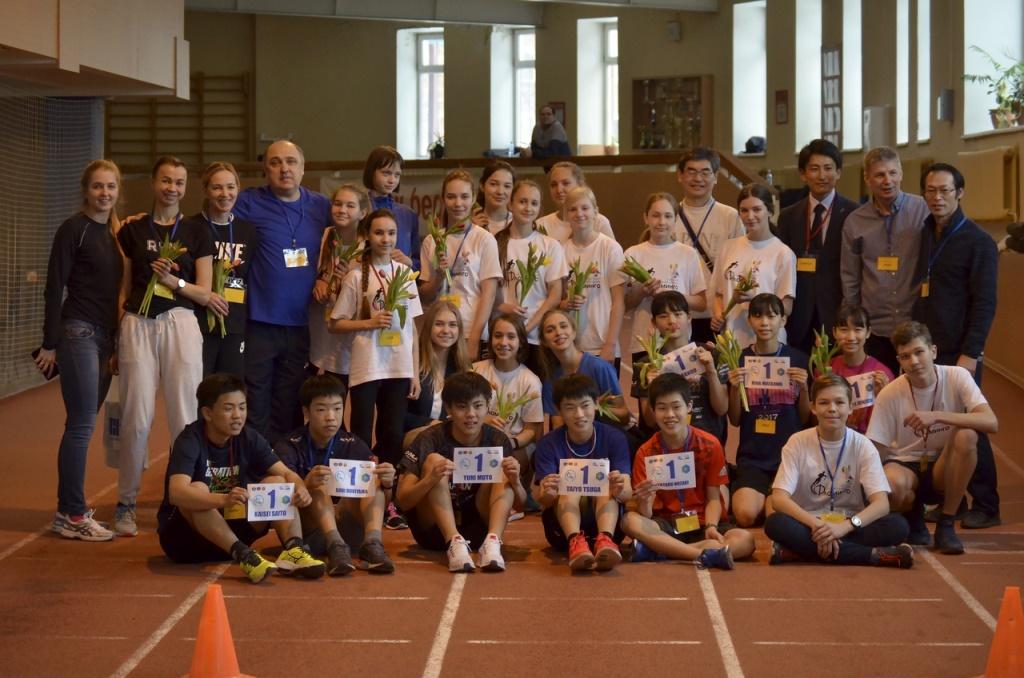 Визит молодежной спортивной делегации из г. Саппоро 6-11.03.2019