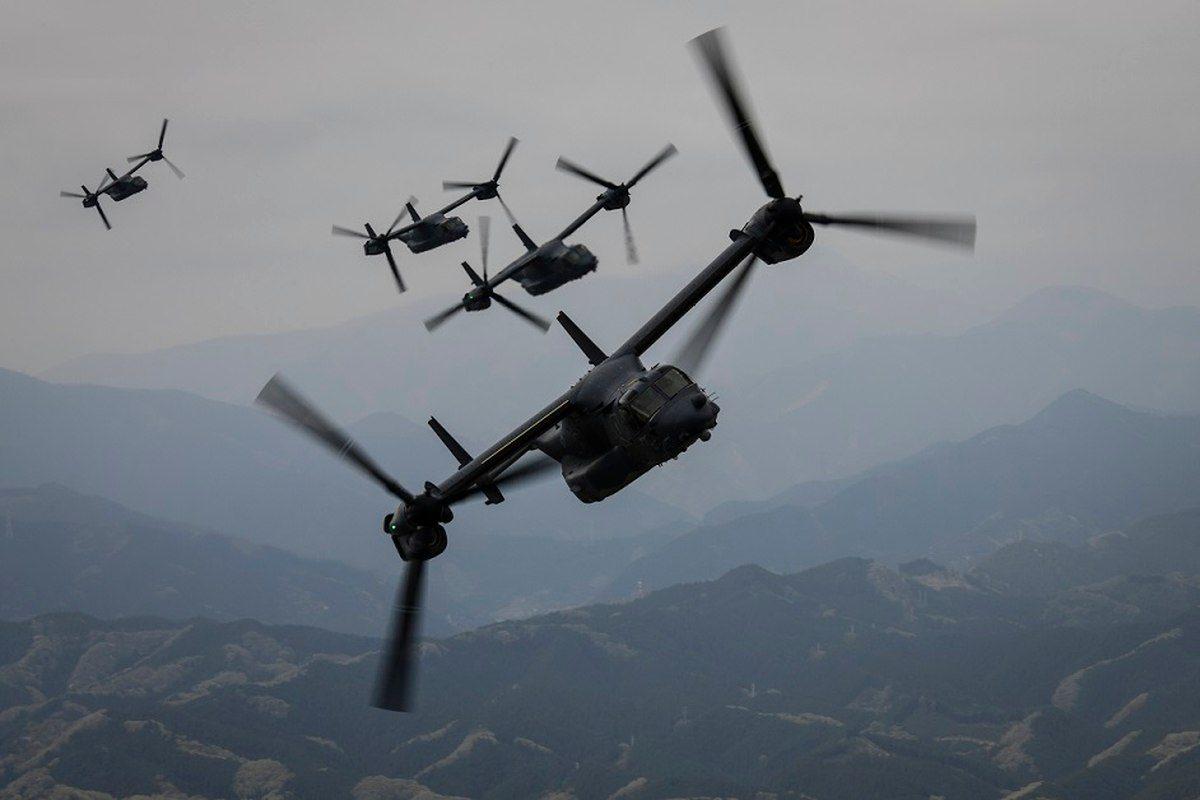 СМИ: Япония будет использовать конвертопланы Osprey в спасательных операциях за рубежом