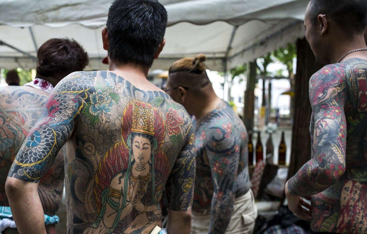 В Японии численность группировки якудза сократилась до минимума