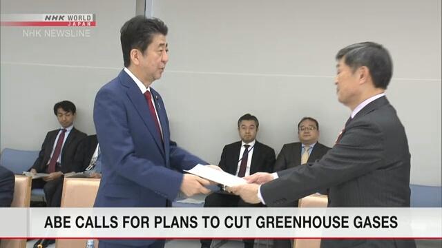 Абэ призывает к выработке стратегии по сокращению эмиссий парниковых газов