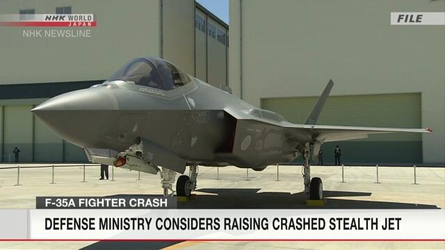 Министерство обороны Японии планирует поднять обломки упавшего самолета F35