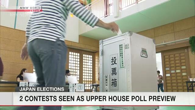 В Японии проходят местные выборы