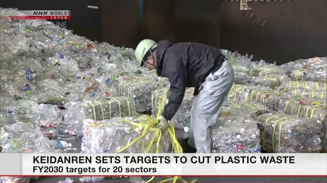 Федерация бизнеса Японии установила цели сокращения пластиковых отходов