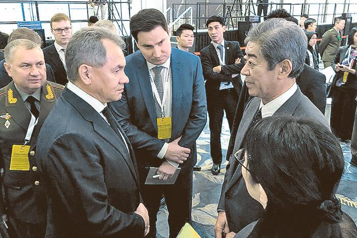 Министр обороны Японии хотел бы провести отдельные переговоры с Шойгу в Токио