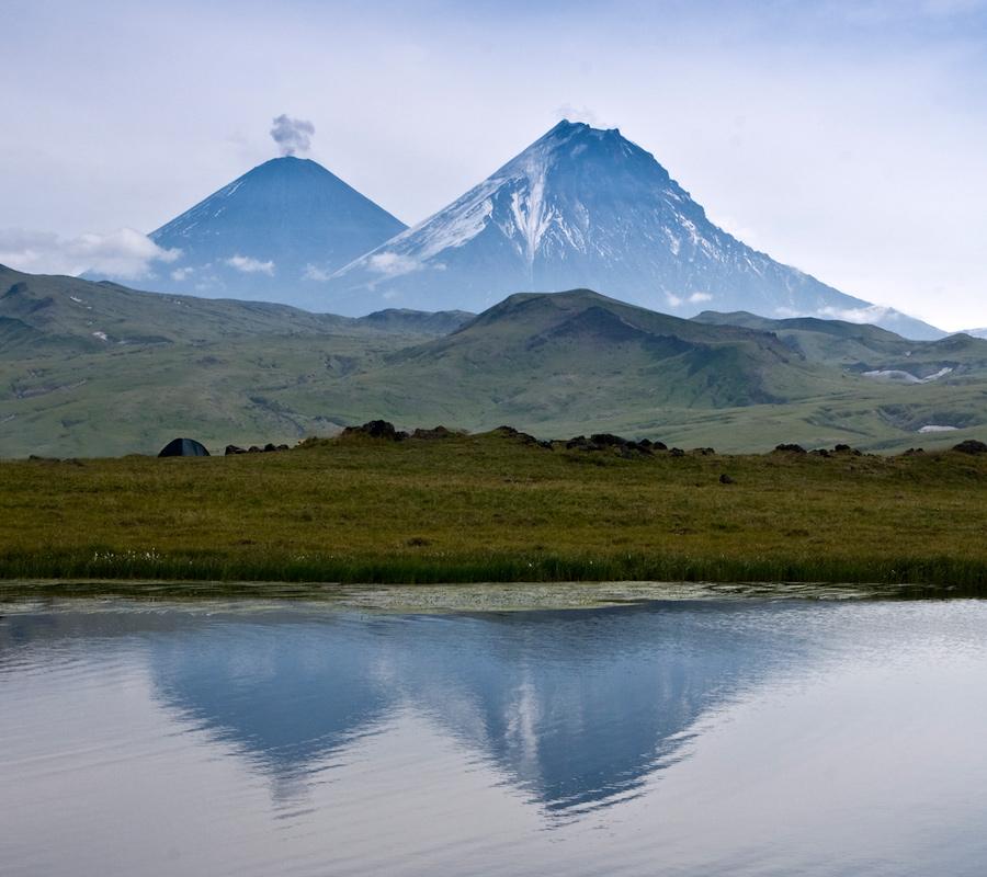 Японский альпинист погиб на Камчатке при восхождении на вулкан