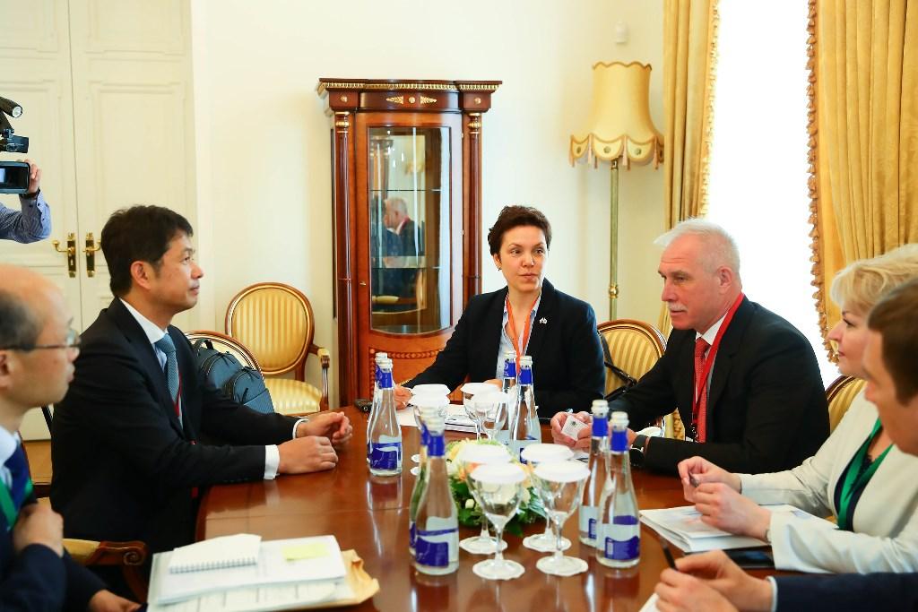 Губернатор Ульяновской области Сергей Морозов выступил с инициативами по развитию двустороннего сотрудничества России и Японии