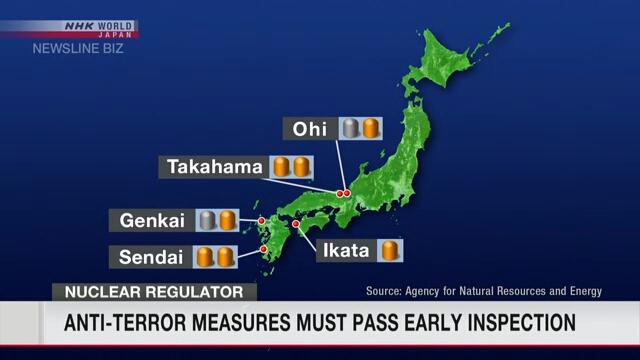 АЭС в Японии должны проходить обязательную проверку на наличие антитеррористических объектов