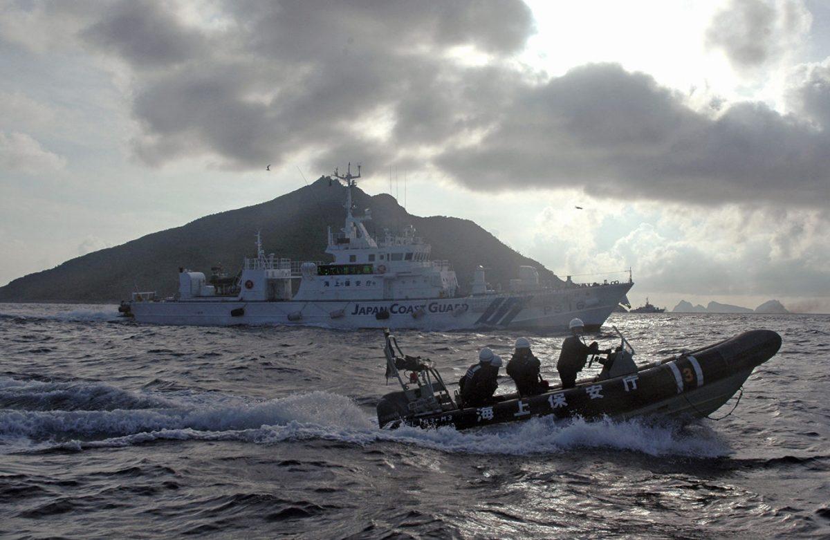 СМИ: Япония разместит патрульный корабль в районе спорных с Китаем островов