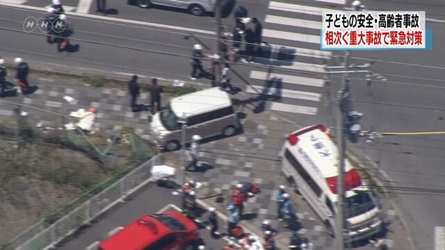 Правительство Японии приняло меры по борьбе с ДТП