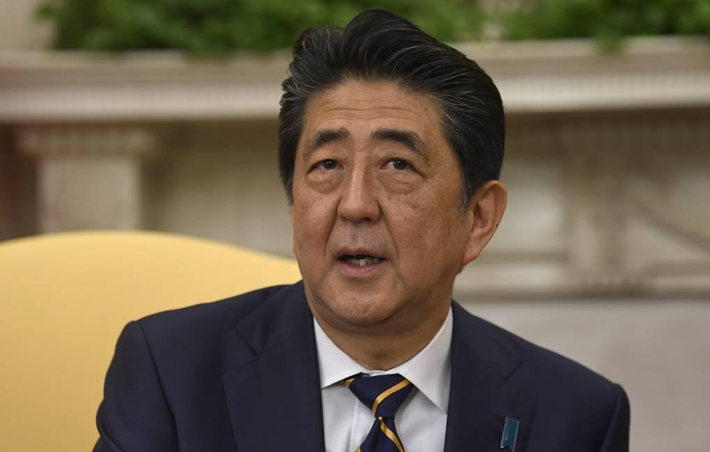 Абэ в годовщину капитуляции заявил, что Япония никогда не будет принимать участие в войнах
