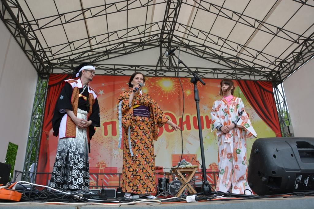 Японский акцент на Фестивале Досуга