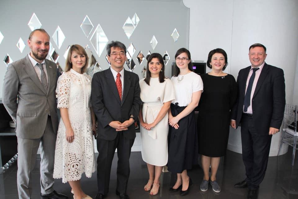 Благодарственный приём от имени Посольства Японии в России в г.Екатеринбурге в честь завершения Перекрестного года России и Японии