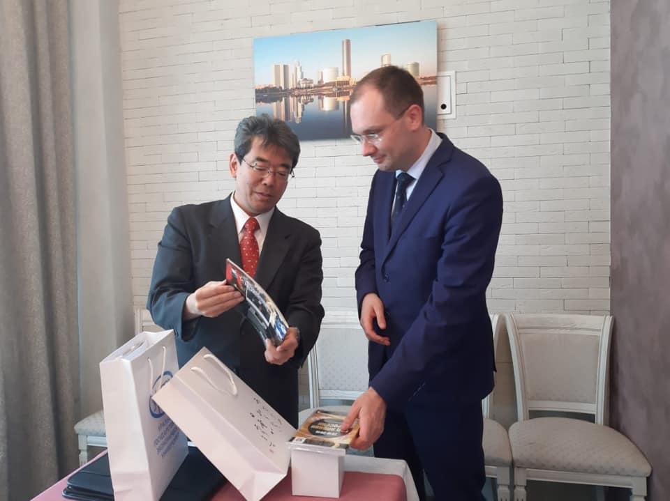 Уральский Государственный экономический Университет налаживает мосты между Россией и Японией
