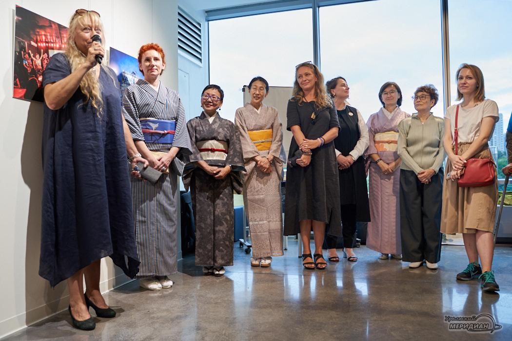 Работы Марии Голомидовой открыли Неделю японских искусств в Ельцин Центре