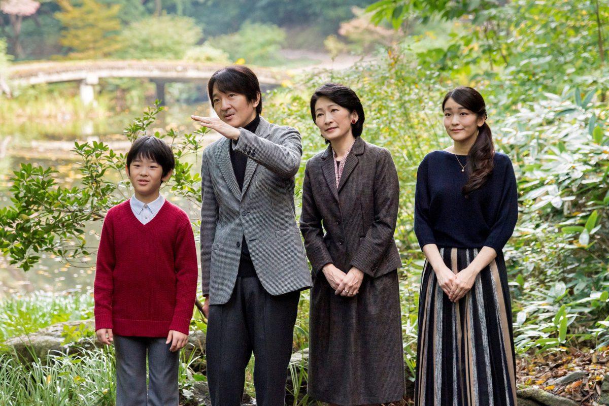 Принц Хисахито отправился в свою первую зарубежную поездку