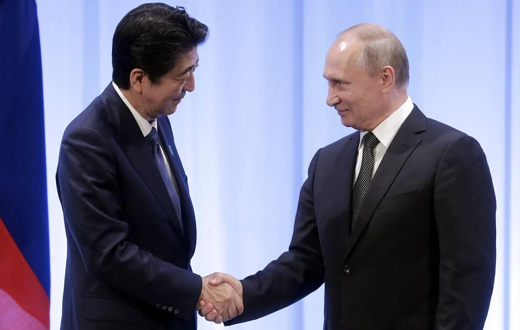 Абэ считает, что Путин разделяет его желание заключить мирный договор