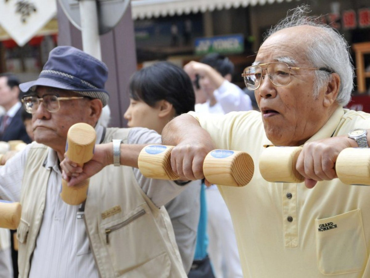 Число людей старше 100 лет в Японии превысило отметку в 70 тыс.